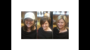 Deb's in her three purchased wigs = $1350