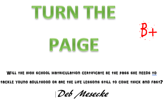 Turn the paige title page